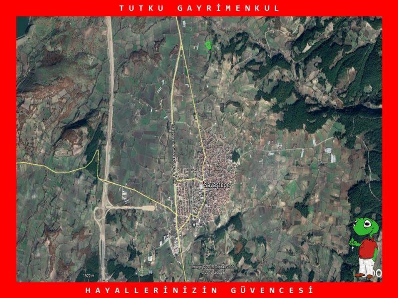 SAVAŞTEPE'DE OTOYOLA YAKIN 7.388 M2 TARLA – TUTKU GAYRİMENKUL