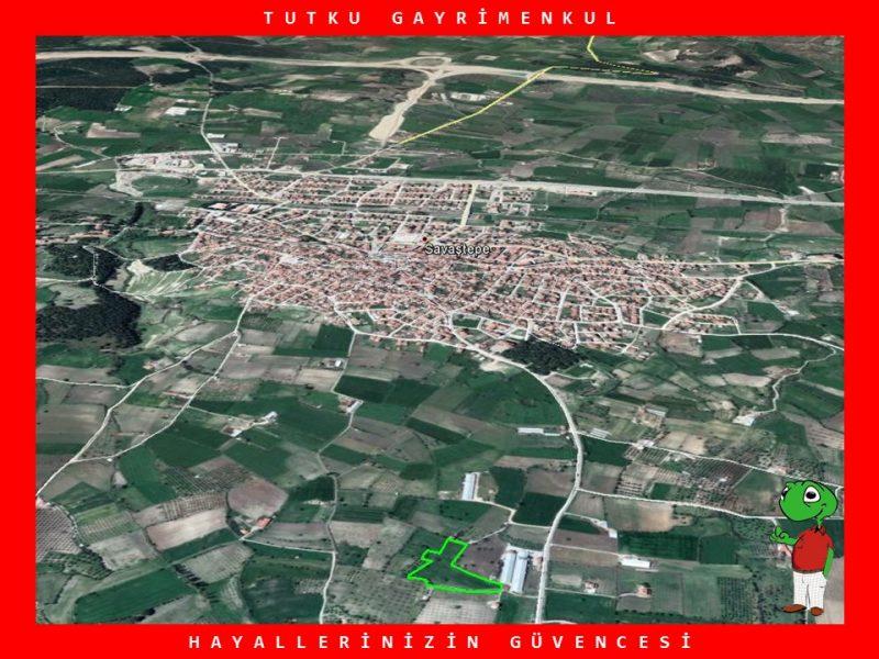 SAVAŞTEPE'DE OTOYOLA YAKIN 8.755 M2 TARLA – TUTKU GAYRİMENKUL