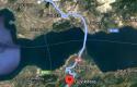 ALTINOVA GEYİKDERE KÖYÜN'DE RESMİ YOLU OLAN 1149 m² TARLA