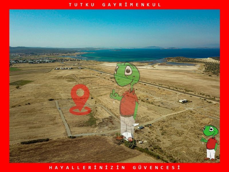 BALIKESİR GÖMEÇ'TE 318 m² VİLLA İMARLI SATILIK ARSA