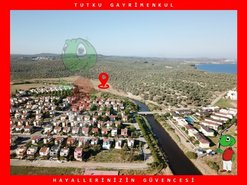 BALIKESİR GÖMEÇ YAYA MAH.408 m² KONUT İMARLI SATILIK ARSA