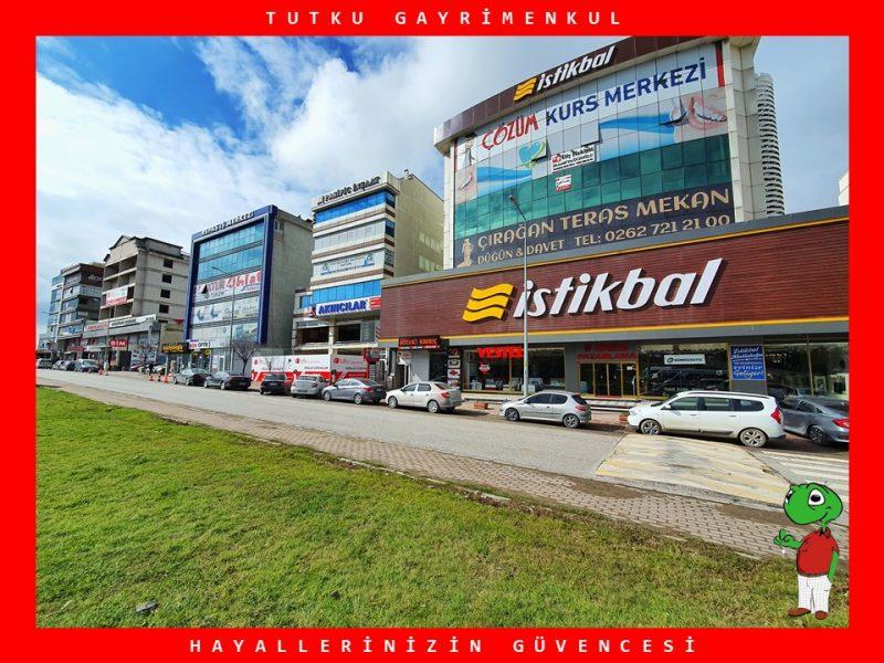 MUTLUKENTİN İŞLEK CADDESİDE KİRALIK 450 m² DÜKKAN