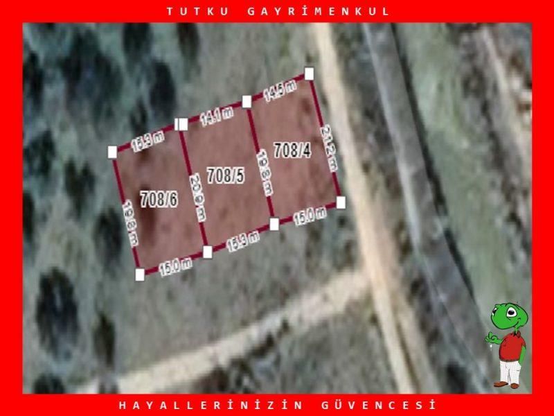 BALIKESİR GÖMEÇ YAYA MAH. 906 m² SATILIK İMARLI ARSA