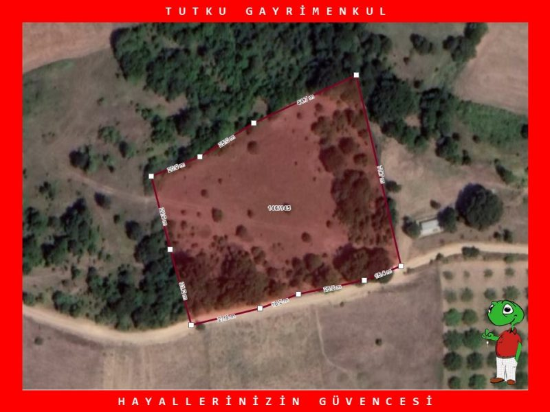 KARAMÜRSEL YALAKDERE KÖYÜN'DE 6.091 m² SATILIK TARLA